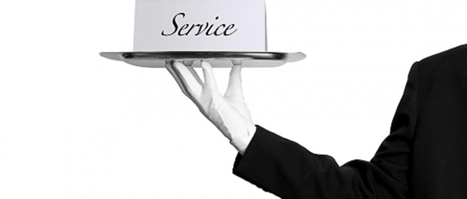 el principio del servicio