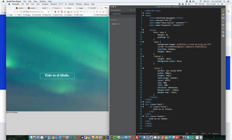 Como Colocar Una Imagen de Fondo Que Cubra la Pagina Web Completa con CSS y HTML