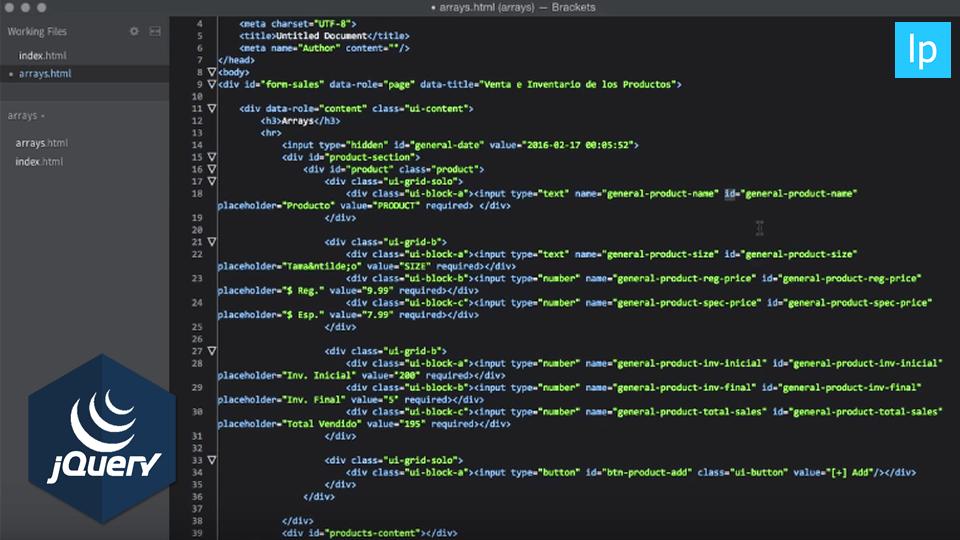 Programación Básica con jQuery