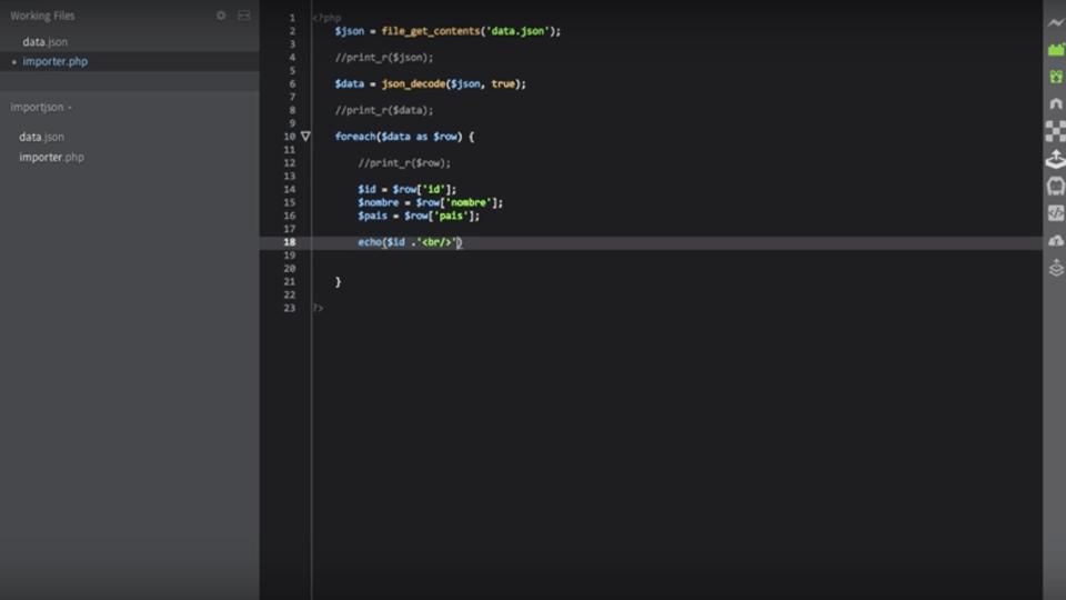 Cómo Importar un Archivo JSON a una Base de Datos con PHP